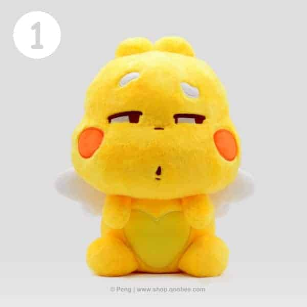 QooBee Plushy 2019 - Mean Look Expression
