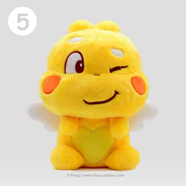 QooBee Plushy 2019 - Cheeky Expression