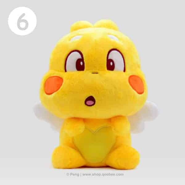 QooBee Plushy 2019 - Surprise Expression