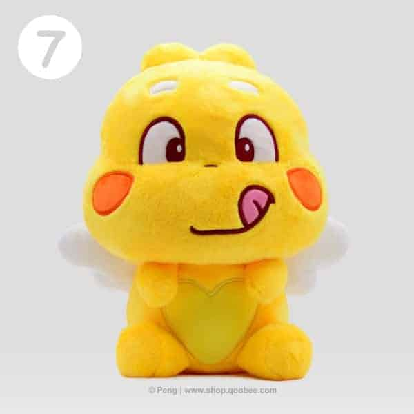 QooBee Plushy 2019 - Hungry Expression