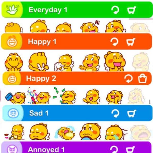 QooBee iMessage Stickers