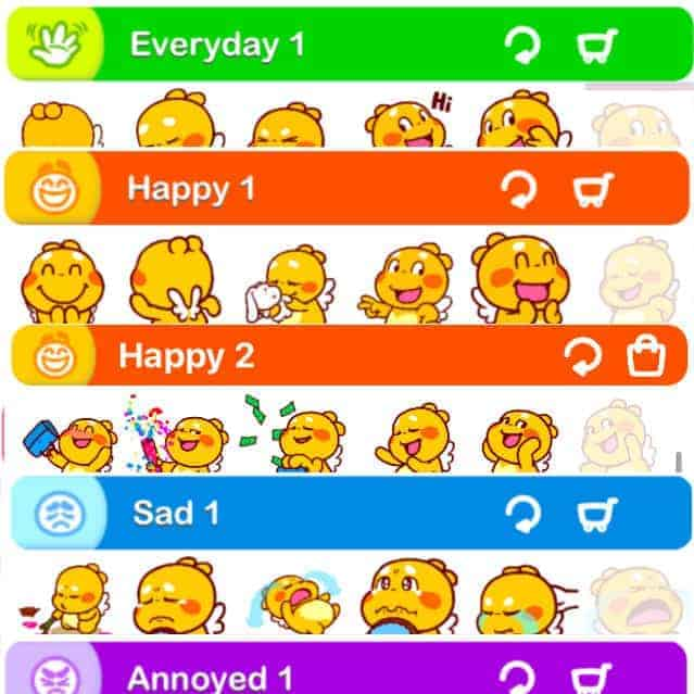 QooBee iMessage Stickers
