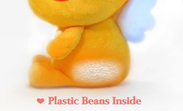 QooBee Plushy with Plastic Beans