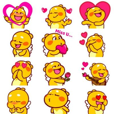 Love-Emoji-Animated-QooBee-Agapi