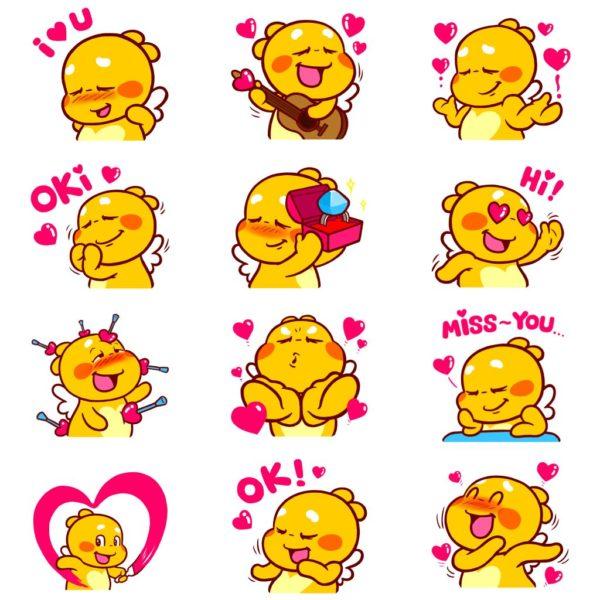 Love-Emoji-QooBee-Agapi