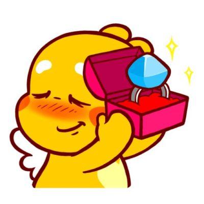 Love Emoji of QooBee Agapi