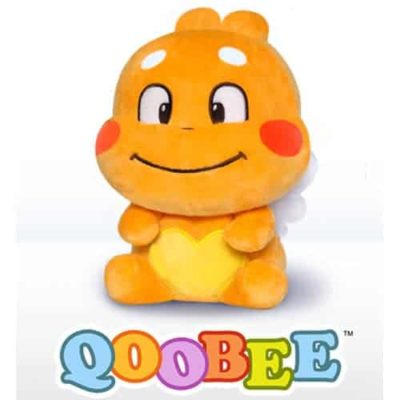 QooBee Sitting Plushy - Smile