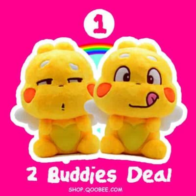 QooBee Plushy Buddy Deals