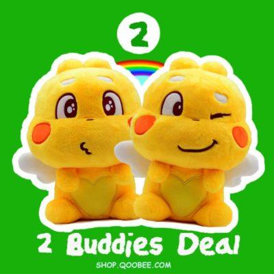 QooBee Plushy Buddy Deals