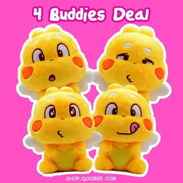 QooBee 4 Buddies Deal