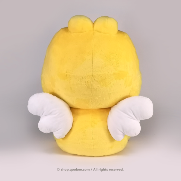 Giant QooBee Plushy Back View