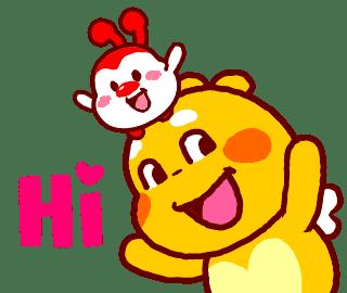 QooBee-Milky-Sticker