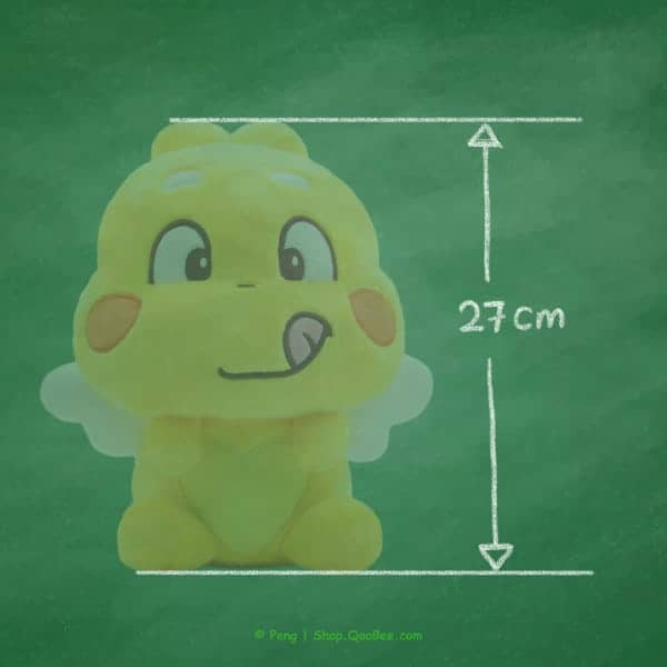 QooBee Plushy 2019 Height