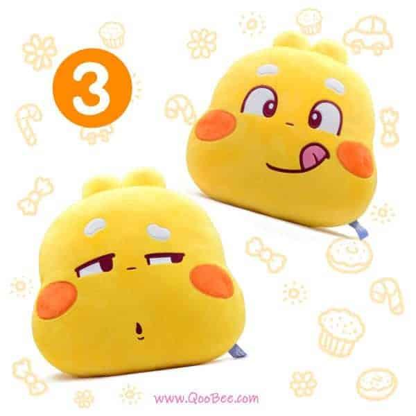 QooBee Twin Pillow Promo 3