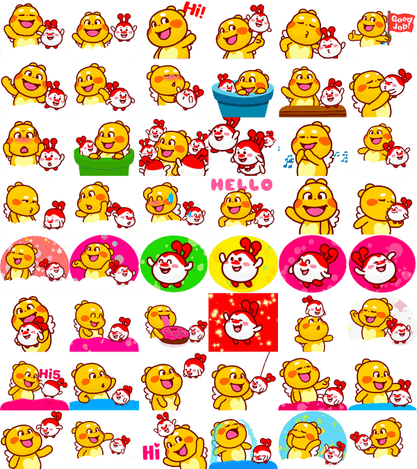 QooBee-milky-sticker-collection1