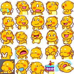 QooBee Stickes Preview