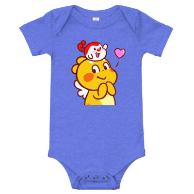 QooBee & Milky Baby short sleeve one piece