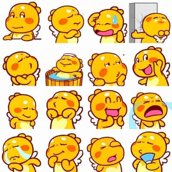 QooBee Digital Stickers Preview