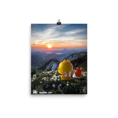 QooBee & Milky Poster (Matte)