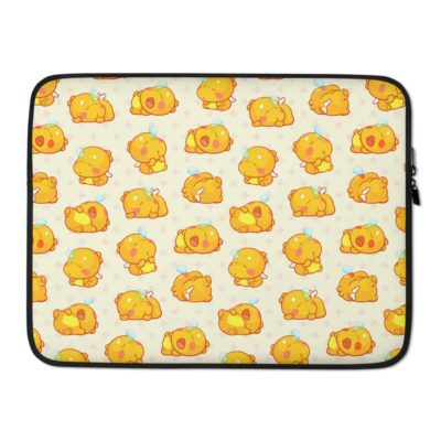 QooBee Agapi Sleeping Laptop Sleeve