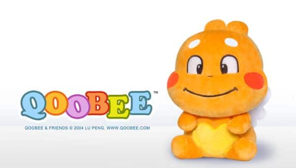 QooBee Sitting Plushy