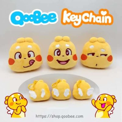 QooBee Plushy Keychain Featured