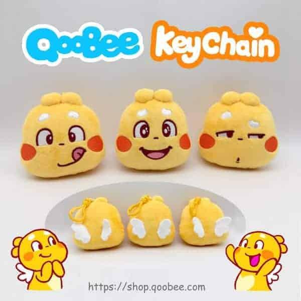 QooBee毛絨鑰匙鏈