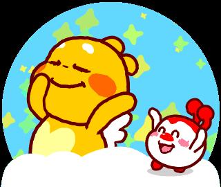QooBee & Milky Dancing