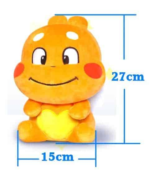 QooBee softtoy size