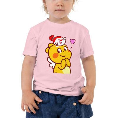 QooBee & Milky Toddler Short Sleeve Tee